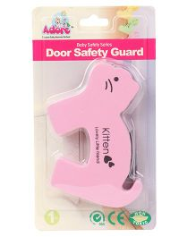 Adore Kitten Shaped Door Safety Guard  - Pink