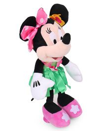 Minnie Mouse Plush Toy In Hawaiian Dress - 25.4 cm