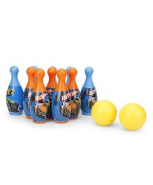 Hot Wheels Bowling Set Multi Colour - 12 Pieces