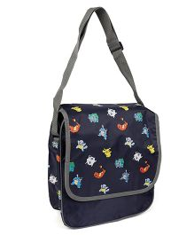 Pokemon Printed Medium Messenger Bag - 11 inches