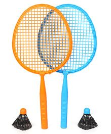 Hot Wheels Badminton Racket Set - Blue & Orange