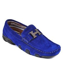 Nfive Classic Loafers - Blue