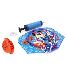Mickey Mouse Basketball Board Set - Blue