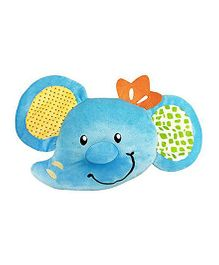 Babies Bloom Baby Ember Contour Infant Pillow Elephant Shape - Blue