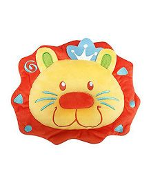 Babies Bloom Baby Logan Contour Infant Pillow Lion Shape - Orange