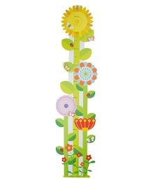 Babies Bloom Floral Growth Chart - Multicolor