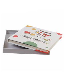 Babies Bloom Forest Themed 1st Year Memory Book - Multicolor