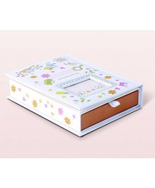 Babies Bloom Sweet Love Keepsake Book - White