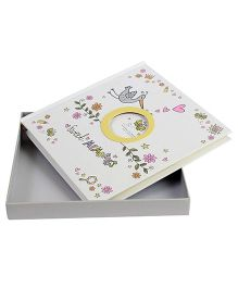 Babies Bloom Sweet Memories 1st Year Memory Book - White