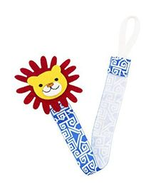Babies Bloom Lion Pacifier Clip Pack Of 2 - Multi Color
