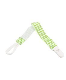 Babies Bloom Infant Pacifier Clip Holder Pack Of 2 - Green