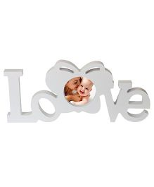 Babies Bloom Love Themed Photo Frame - White