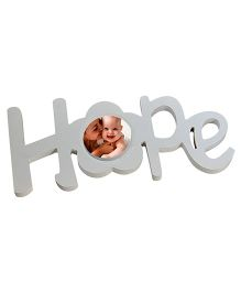 Babies Bloom White Hope Themed Photo Frame - White