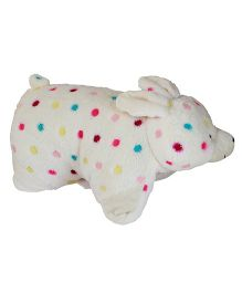 Babies Bloom Cute Rabbit Pillow - Cream