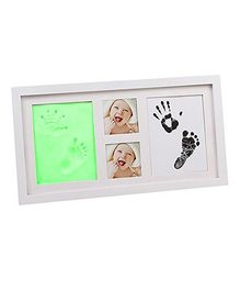 Babies Bloom Hand-Print & Footprint Picture Frame Kit -Green