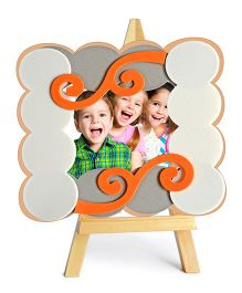 B Creative Craft Easel Photo Frame Kit - Red