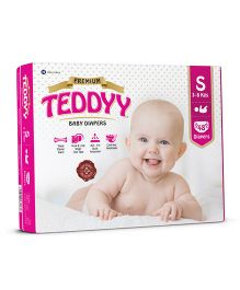 Teddyy Baby Premium Diapers Small Size - 48 Pieces