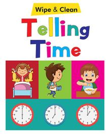 Telling Time Wipe & Clean Book - English