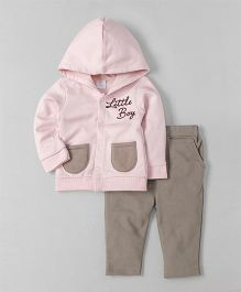 Wonderchild Hooded Jackets & Pants - Grey