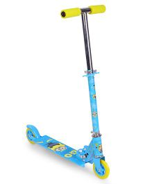 Minions Go Banana Design 2 Wheels Scooter - Blue