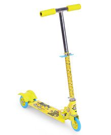 Minions Chaos Design 3 Wheels Scooter - Yellow