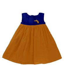 Tiny Toddler Smart Chic Dress - Navy Blue