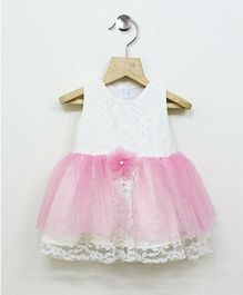 Tiny Toddler Elegant Dress - White