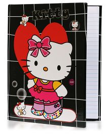 Babyoodles Light Up Notebook Hello Kitty Black - 120 Pages