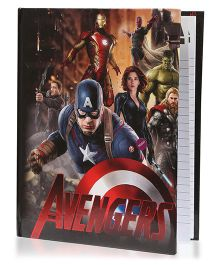Babyoodles Light Up Notebook Avengers Multicolour - 120 Pages