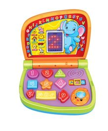 Toyhouse Laptop Learning Machine with LED Light & Music - Multicolor