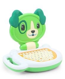 Toyhouse Kids Educational Laptop with Learning Activities - Green