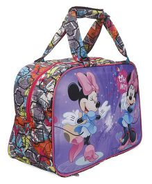 Disney Minnie Mouse Multipurpose Bag Purple - 17 inches