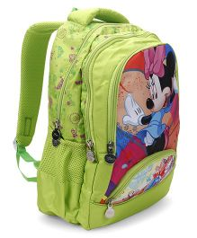 Disney Minnie Mouse School Bag Light Green - 17 Inches