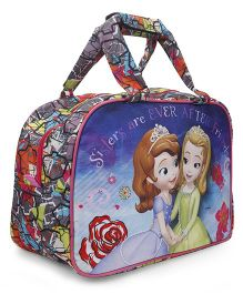 Disney Sofia Multipurpose Bag Blue & Orange - 17 inches