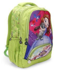 Disney Sofia School Bag Light Green - 14 Inches