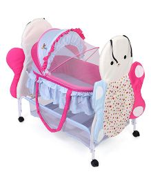 Sunbaby Buzz The Butterfly Bassinet SB 233 B - White Blue