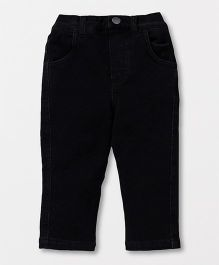 Fox Baby Full Length Jeans Straight Fit - Black