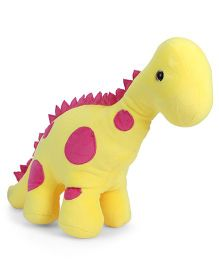 Benny & Bunny Dinosaur Soft Toy Yellow - 31 cm