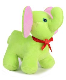 Benny & Bunny Elephant Soft Toy Green - 20 cm