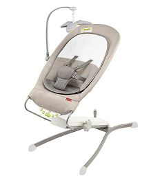 Skip Hop Uplift Multi-Level Baby Bouncer - Grey