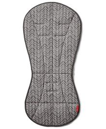 Skip Hop Cool Touch Stroller Liner Feather Design - Grey