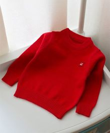 Pre Order - Awabox Basic Sweater - Red