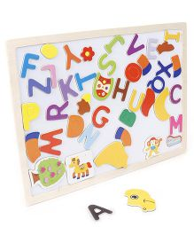 Smiles Creation Puzzle Cum Writing Board - Off White