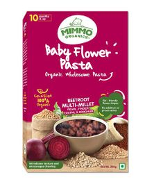 Mimmo Organics Baby Multi Millet Flower Shaped Pasta