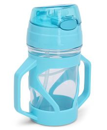 Sipper Bottle With Straw Blue - 250 ml