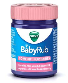 Vicks BabyRub Soothing Vapor Ointment For Babies - 25 ml