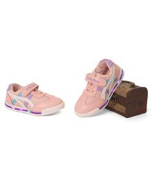Little Maira Velcro Led Shoes - Pink