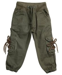 Bella Moda Solid Cargo - Green