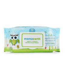 mamaearth Bamboo Based Baby Wipes - 72 Pieces