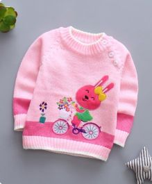 Pre Order - Tickles 4 U Bunny Sweater - Pink